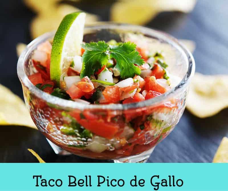 Taco Bell Pico de Gallo
