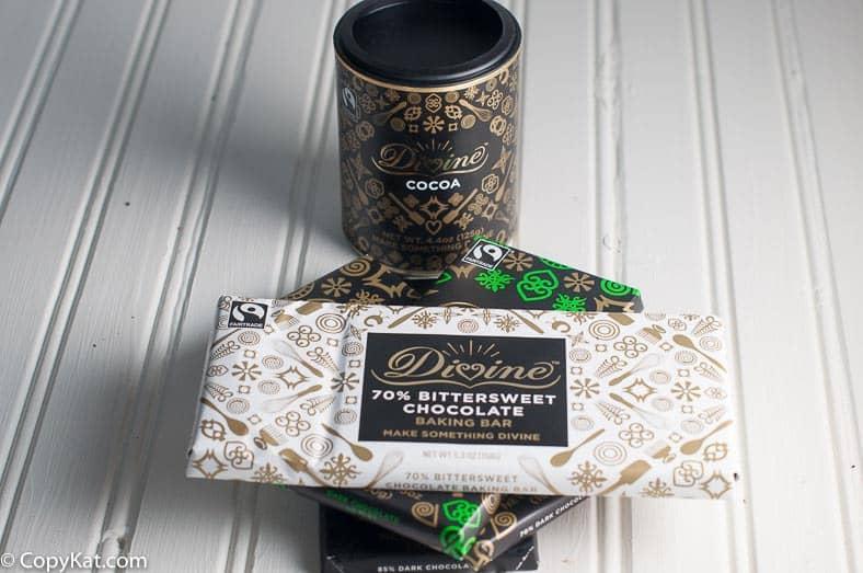 Divine Chocolate Bars