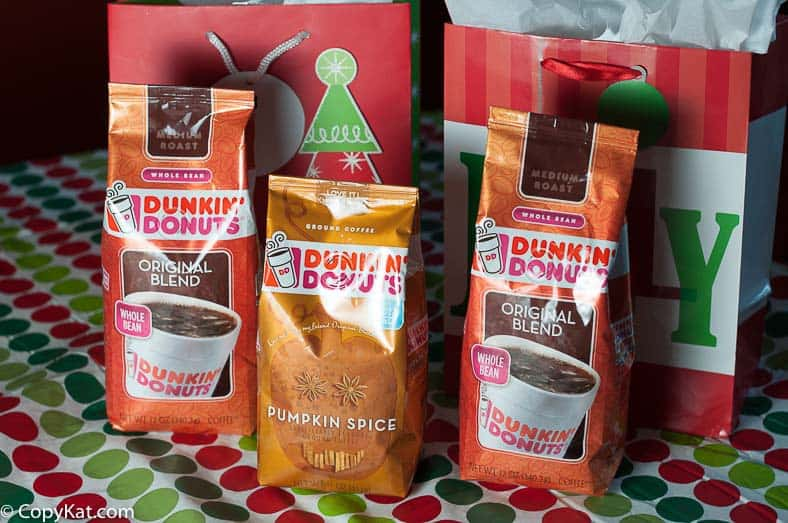 Dunkin Donuts Coffee Gift Bags