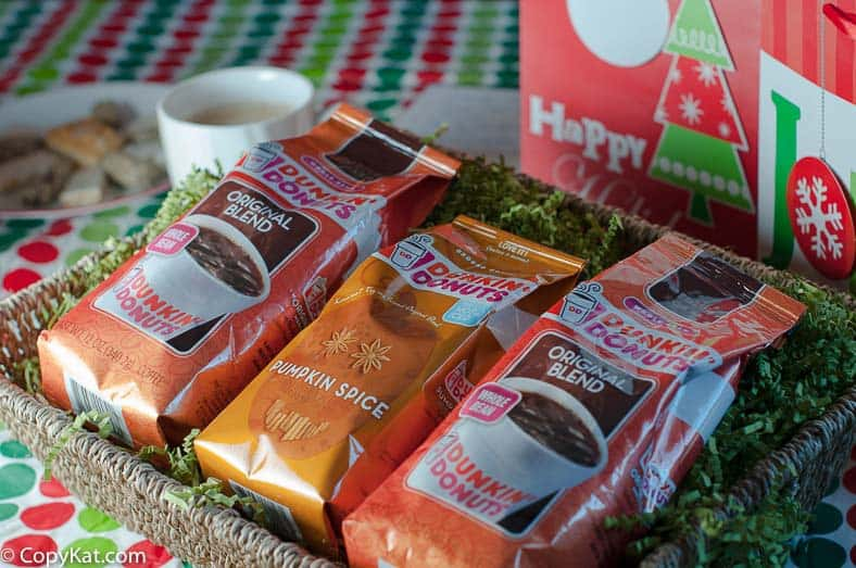 Dunkin Donuts to the Rescue - great gift giving ideas.