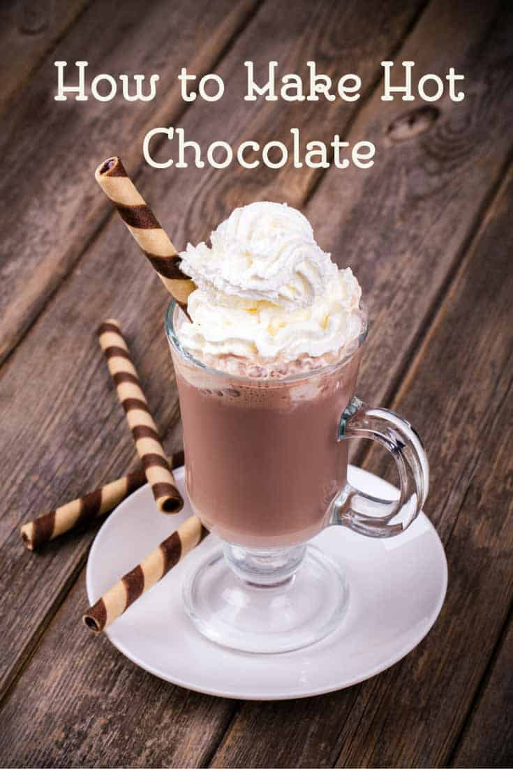 Learn how to make a delicious cup of hot chocolate with this easy recipe from CopyKat.com