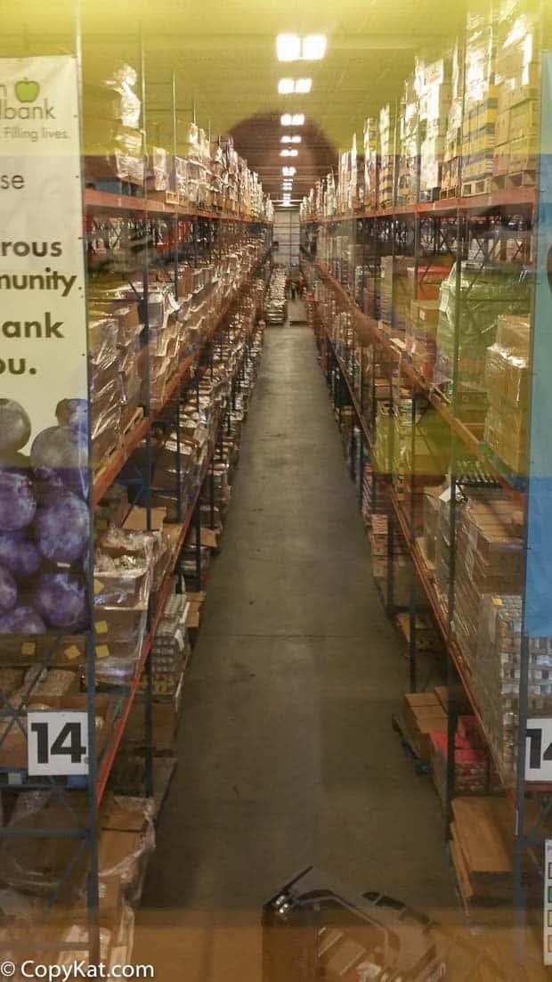 Houston Food Bank Warehouse