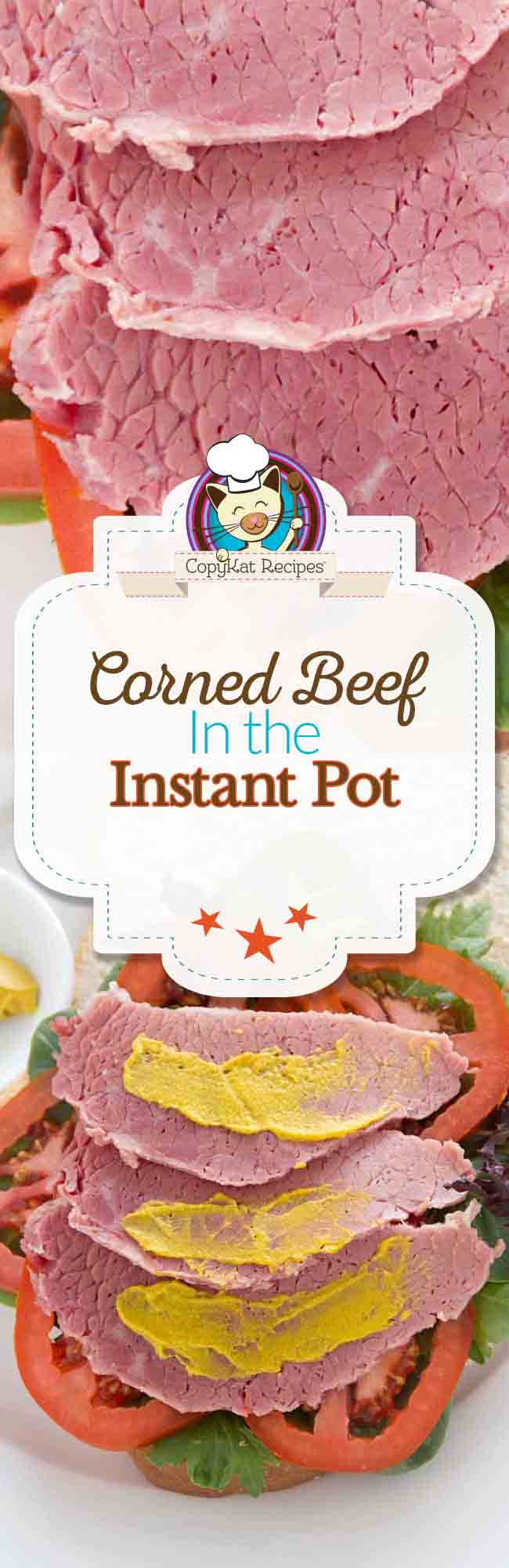 Make tender corned beef in an Instant Pot with this easy recipe.