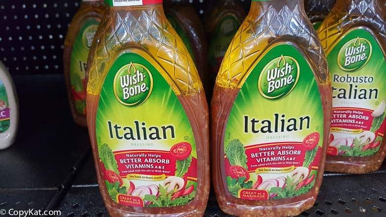 Wishbone Italian Salad Dressing sold at WalMart