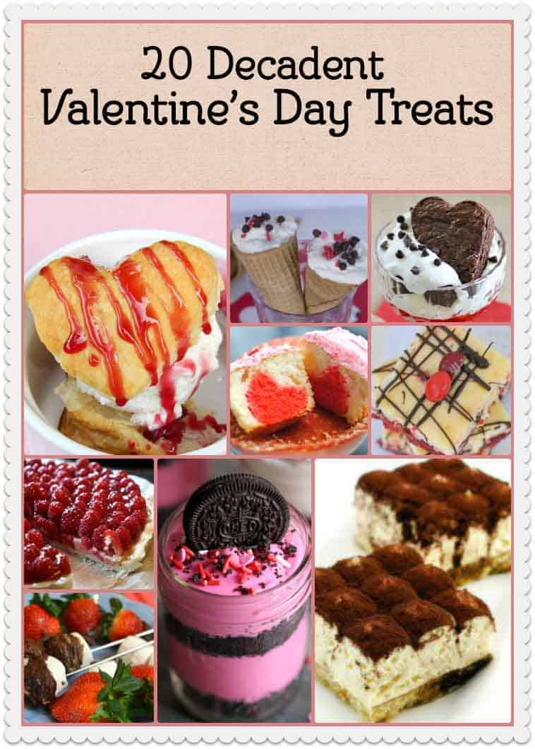 20 Valentine's Day treats for the ones you love. These recipes are perfect for you.