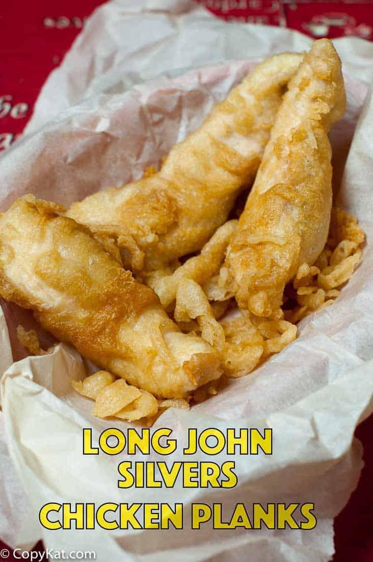 Copycat long john silvers chicken planks for Long john silver s fish batter recipe