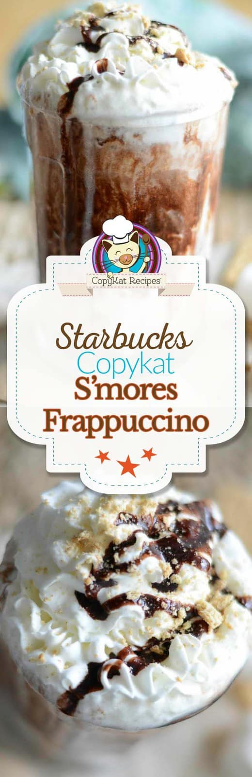 Make your own Starbucks S'mores Frappuccino at home with this easy copycat recipe.