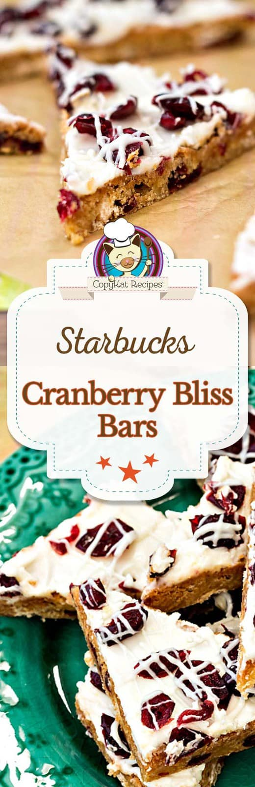 Make your own Starbucks Cranberry Bliss Bar at home with this easy copycat recipe.