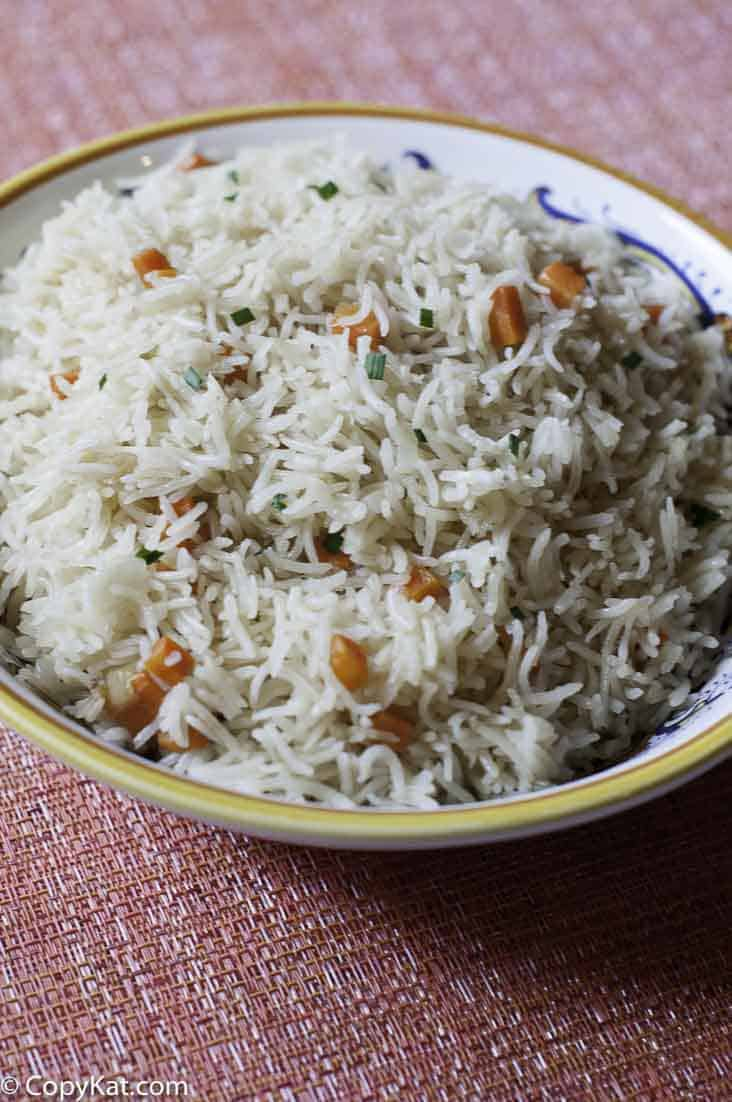 Make a delicious pot of rice pilaf, lower in sodium and so easy to make.