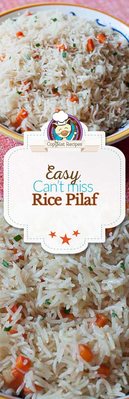 You can make easy to prepare rice pilaf with this easy recipe.  There is no need to buy packages of rice mix anymore.