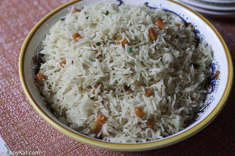 Homemade rice pilaf is easy to make, and  can be prepared quickly.