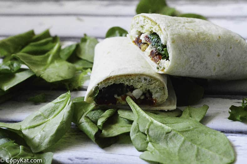 Make your own Starbucks Spinach Feta Wrap at home.  Save Money!