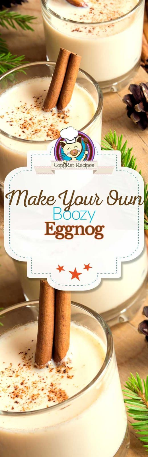 Make your own delicious Boozy Eggnog with this easy recipe.