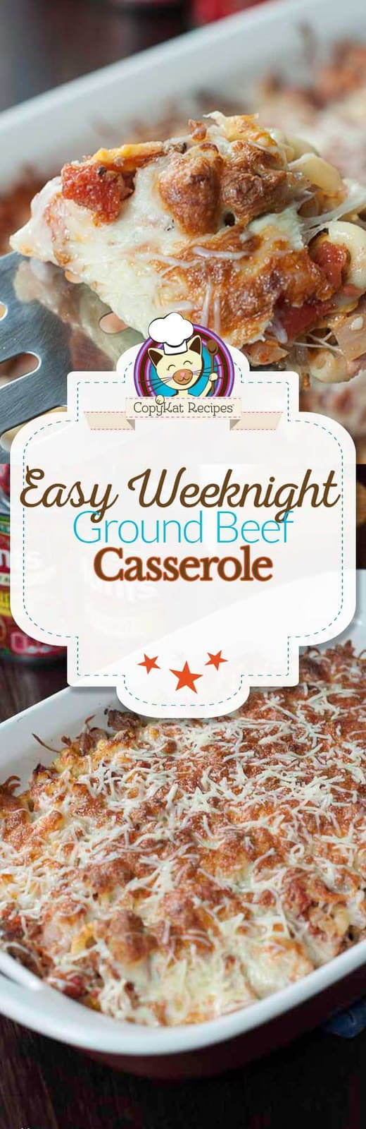 Make this easy Weeknight Ground Beef Casserole, it's super hearty, and delicious.  #AD #HuntsHolidayHappiness