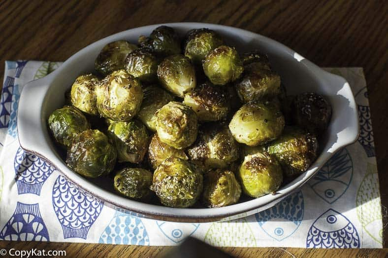 You are going to love these roasted Brussel sprouts that taste just like they do at the Red Lobster.