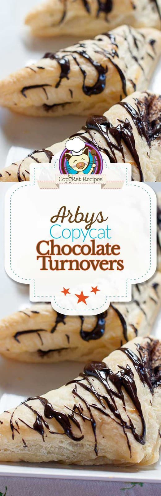 You can recreate Arbys chocolate turnovers at home with this easy recipe.    You will love this copycat recipe.