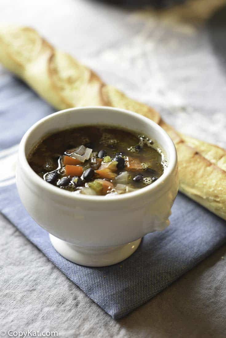 Panera Bread Black Bean Soup is a filling vegetarian soup that you are going to love.