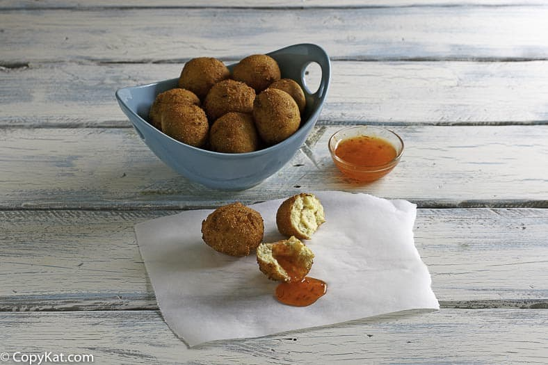 You can recreate Captain Ds hush puppies at home with this easy copycat recipe.