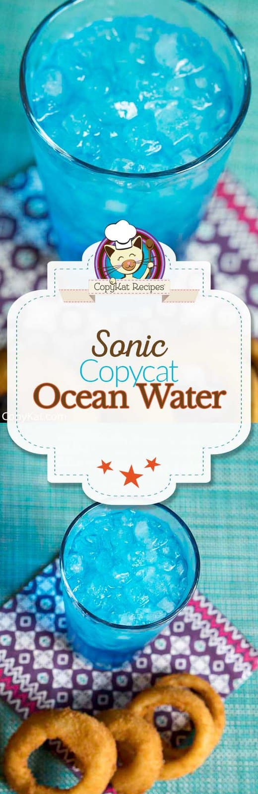 You can recreate the Sonic Ocean Water at home with this easy copycat recipe.