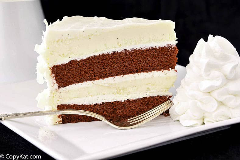 Take a bite out of your own homemade Cheesecake Factory Red Velvet Cheesecake when you make it at home.