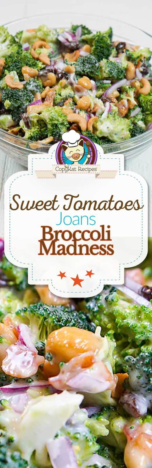 You can make Sweet Tomatoes Joan's Broccoli Madness Salad at home with this easy copycat recipe.