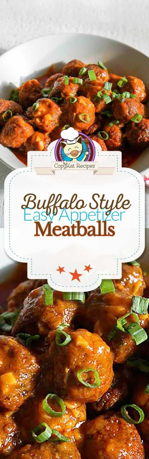 Enjoy these easy to prepare buffalo style meatballs, you will be amazed at the flavor.