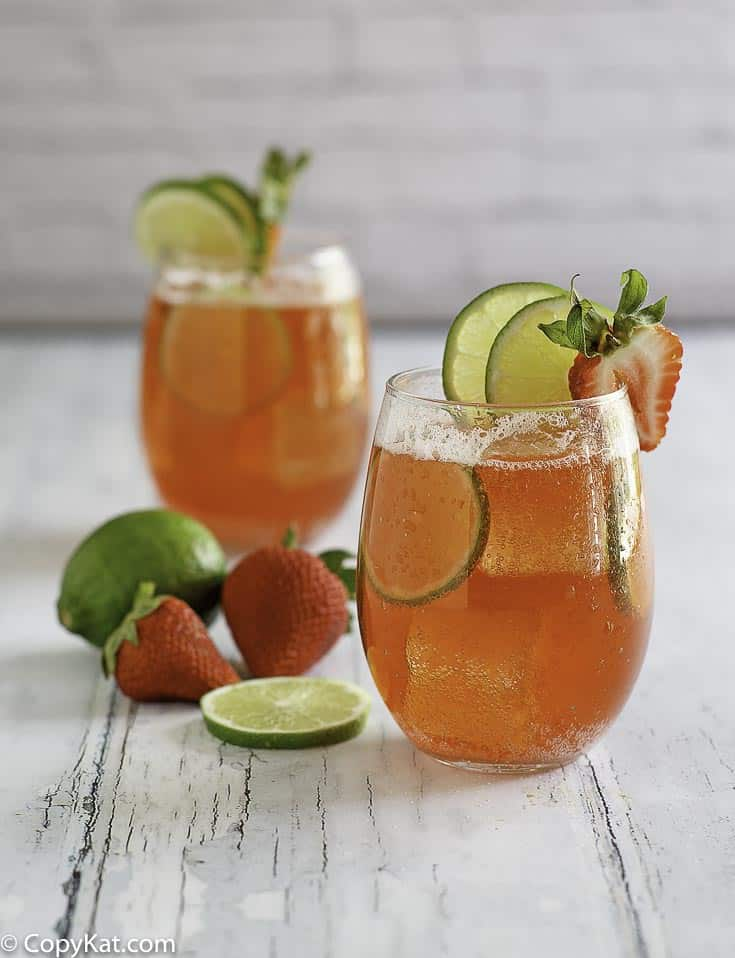 You can recreate the Sonic Strawberry Limeade at home with this copycat recipe.