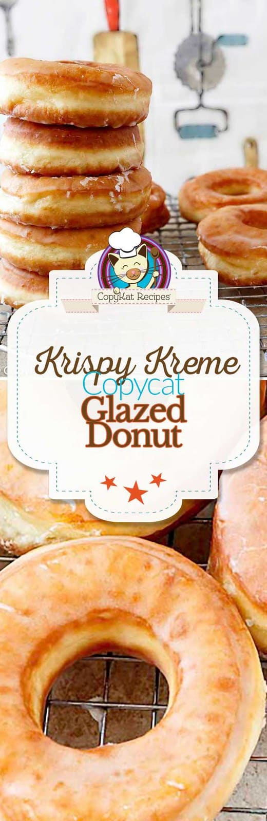 You can recreate the Krispy Kreme glazed donut at home with this copycat recipe.