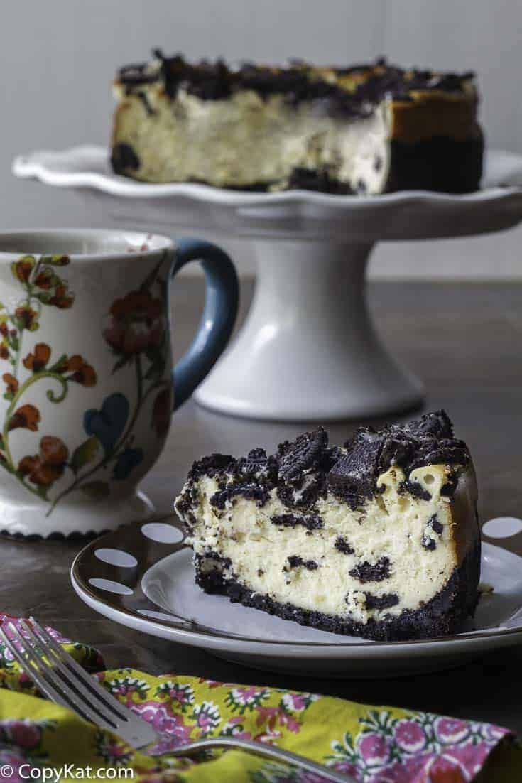 Cheesecake Factory Oreo Cheesecake copycat that you can make.  Tastes just like the real thing!
