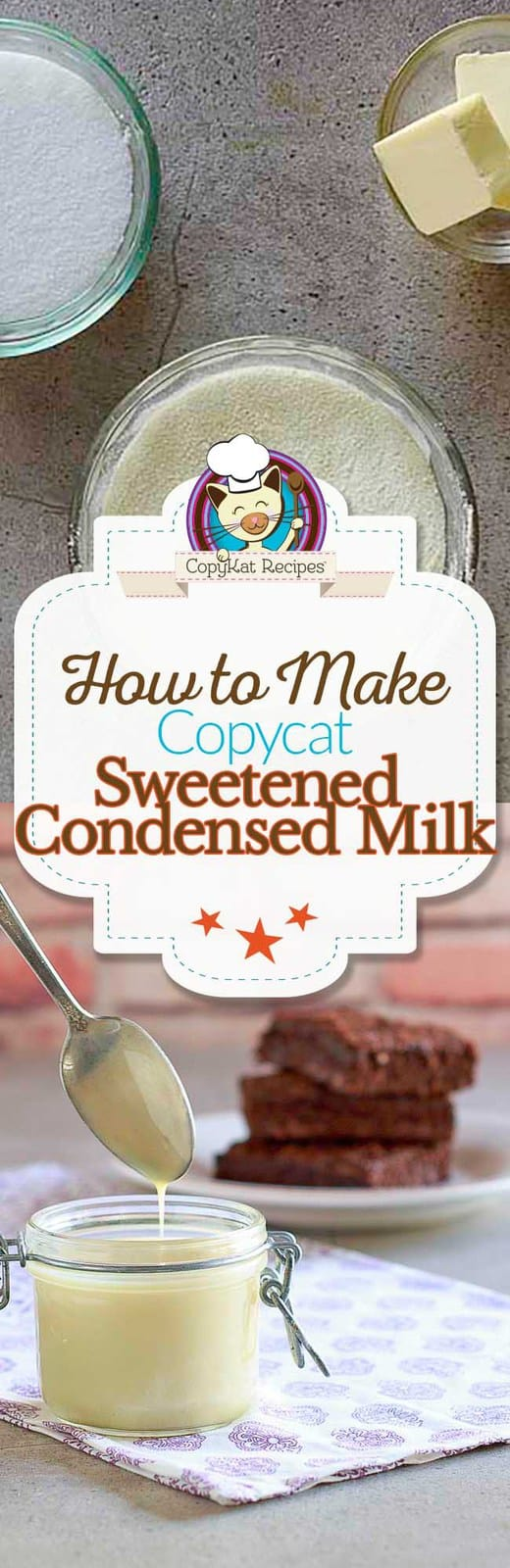 Save money when you make homemade sweetened condensed milk at home.