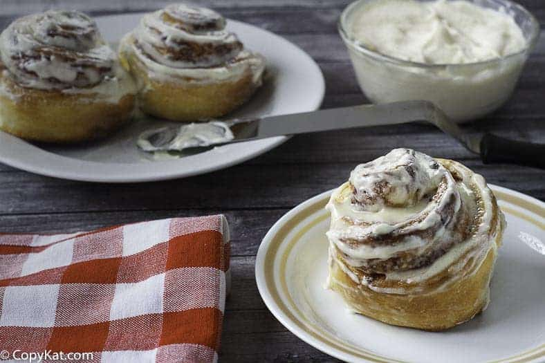 You can recreate Cinnabon cinnamon rolls with this easy copycat recipe.