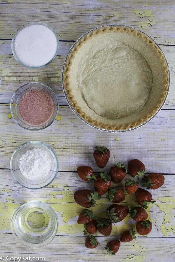 Ingredients for Shoney's pie