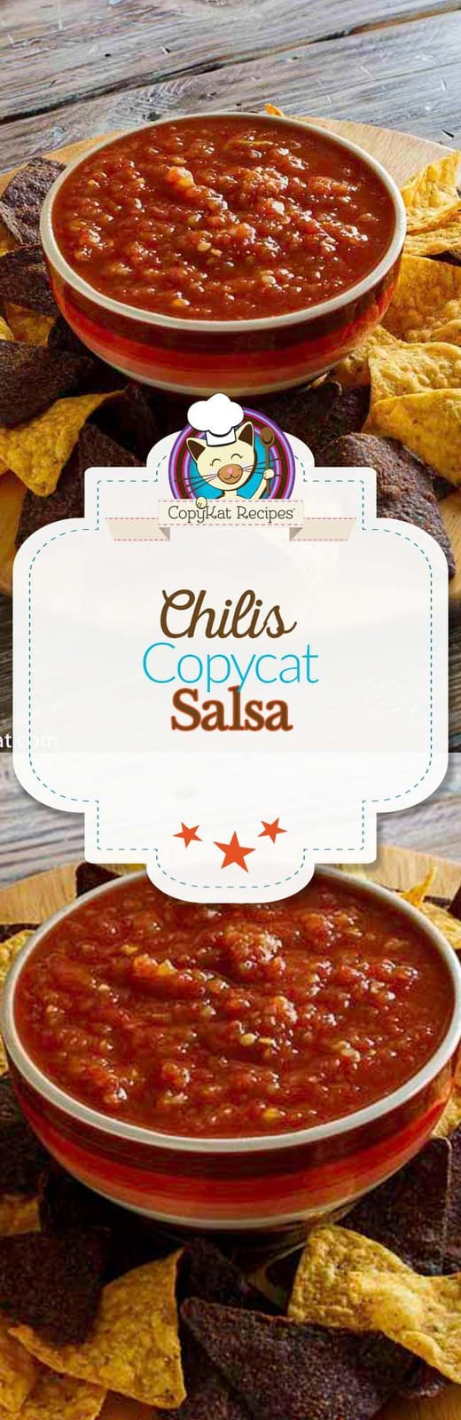 Learn how to make copycat salsa just like Chilis.