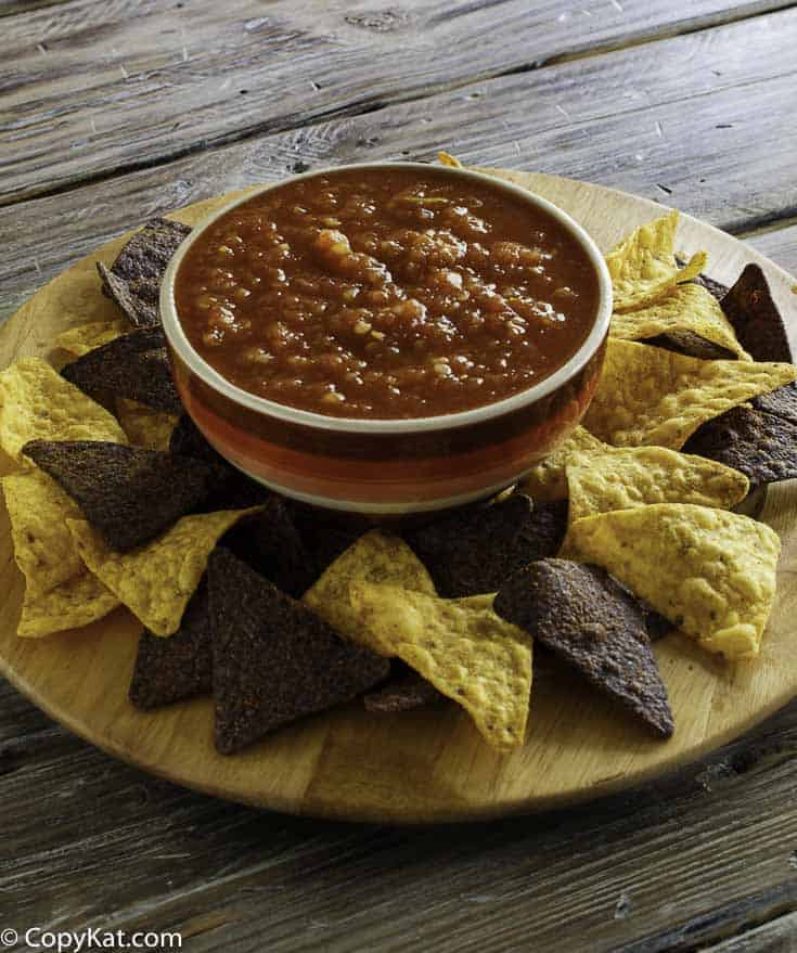 Recreate this classic salsa from Chilis by using your blender.  You are going to love this salsa.