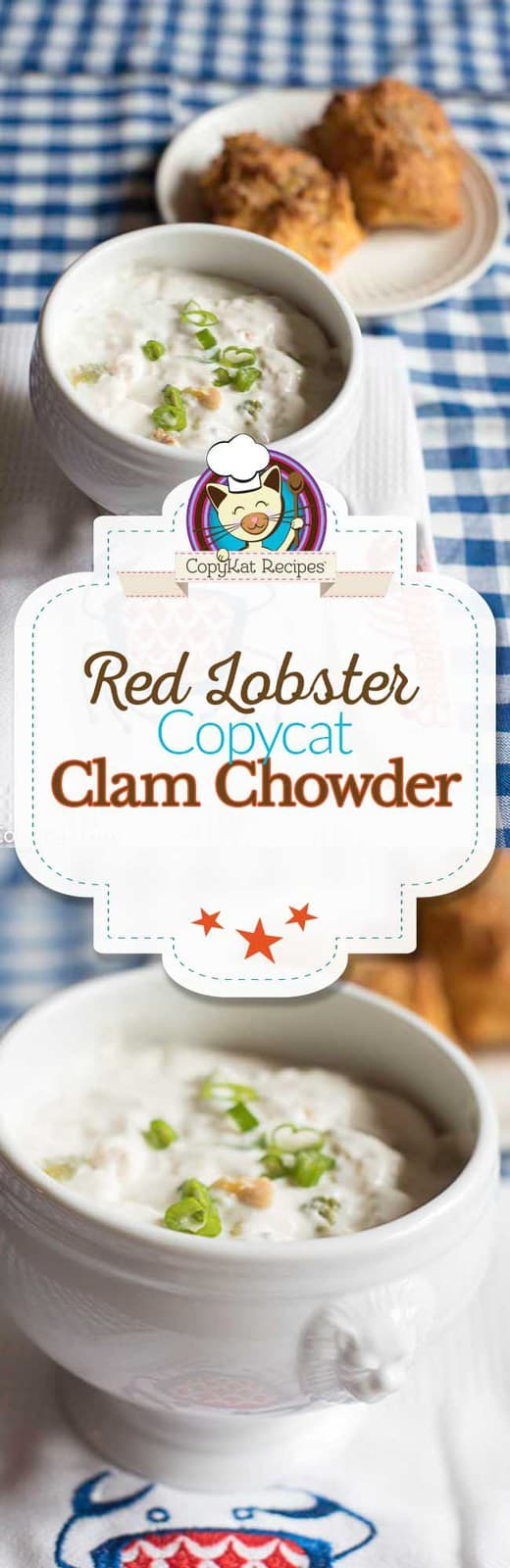 You can recreate the Red Lobster Clam Chowder at home with this copycat recipe.