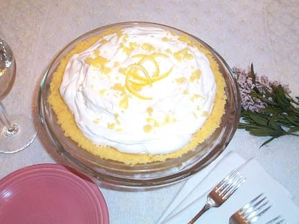 Restaurant Style Lemon Cream Cheese Pie