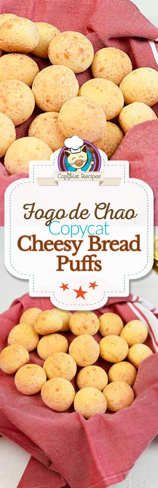 Recreate the cheesy bread puffs just like Fogo de Chao makes at home with this copycat recipe.