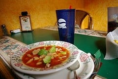 Ground Round Mexican and ChickenTortilla Soup