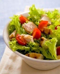 Mason Jar Grilled Chicken Salad
