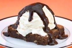 Chilis Chocolate Brownie Sundae