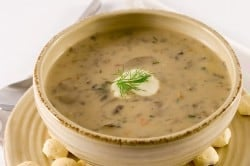 natasha's mushroom stew