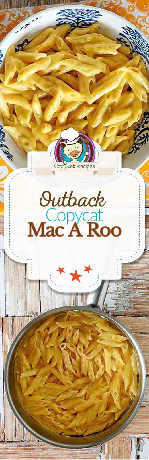 You can recreate the Outback Steakhouse Mac A Roo with this copycat recipe.