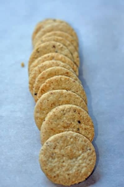 Blue Cheese Walnut Cookies
