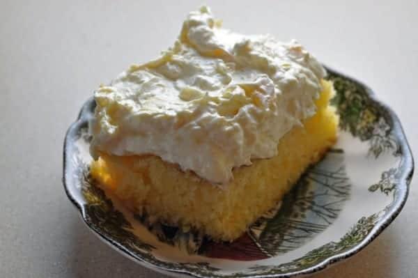 mandarin magic cake