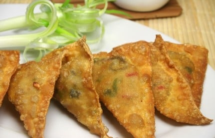 Samosa for Phyllo dough recipes appetizers indian