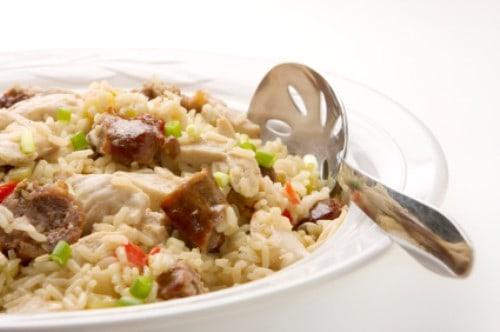 jambalaya in a bowl
