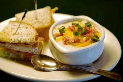 La Madeleine potato soup