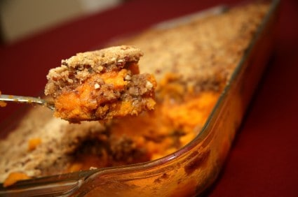 recipe for sweet potato casserole