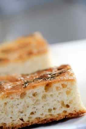 slices of focaccia