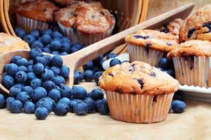 How To Make Blueberry Muffins With Cake Mix